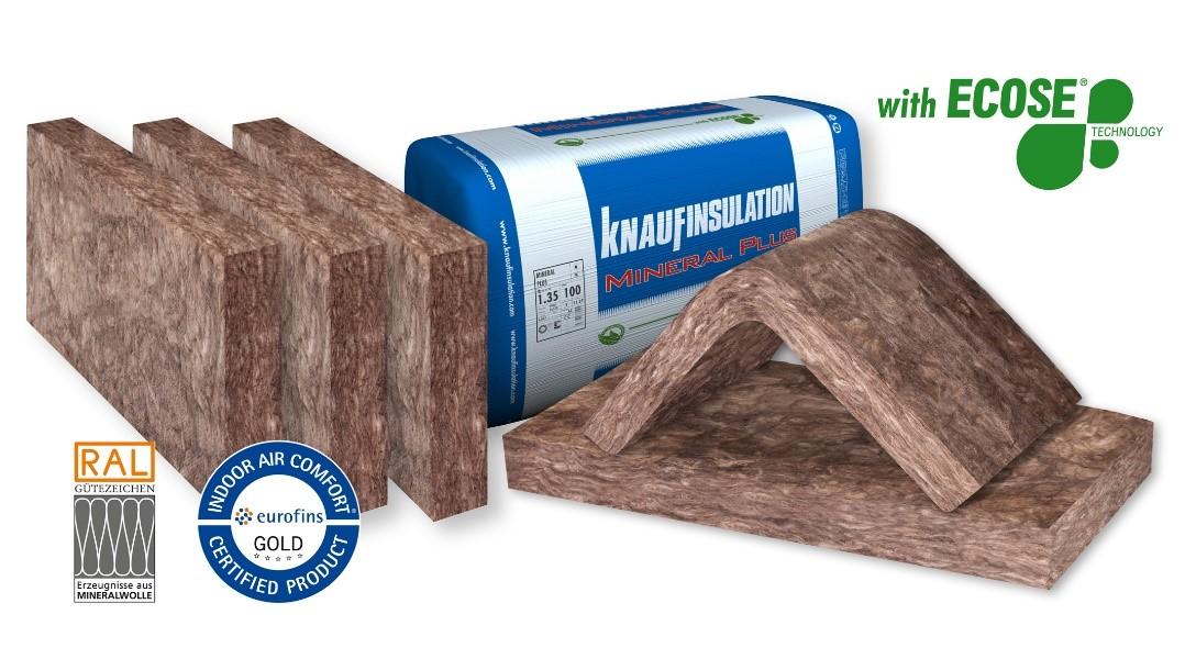 Neu am Lager: Knauf Insulation Dämmplatte Mineral Plus KP 034