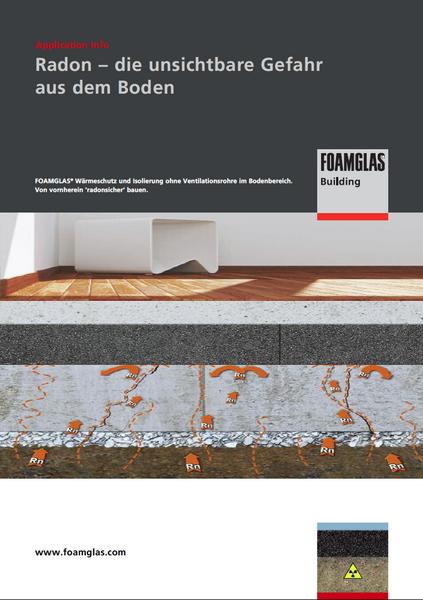 Baulicher Schutz vor Radon mit FOAMGLAS®